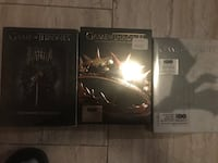 Game of thrones seasons 1-3  $25 each or $60 for all 3 Toronto, M1L 3L1