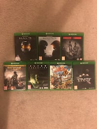 XBOX ONE Video Games