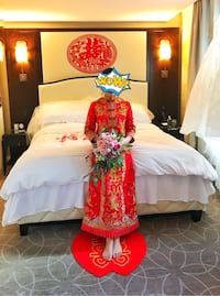 Traditional Chinese bridal dress Burnaby, V5G 1X2