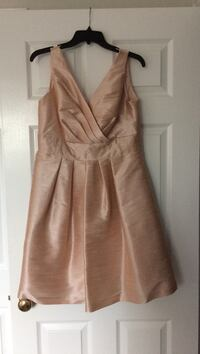 Alexia Designs Pearl Pink Dress Size 16 (actual size 12) Pickering, L1V 2S4
