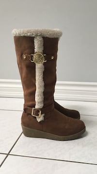 Brown MICHAEL KORS SUEDE BOOTS Toronto, M9P 1Z3