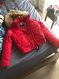 Pajar winter jacket red XS Montreal, H3G 1V7