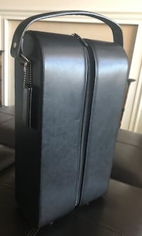 Leather Wine Carrier Fairfax, 22033