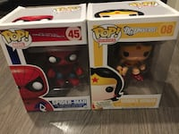 Two brand new funko pop toys  Markham