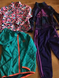 Adidas toddler girl clothing sz 3t