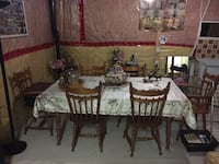 Kitchen table with 6 chairs Milton, L9T 6T2