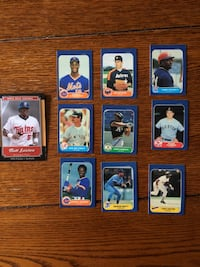 1986 Fleer Mini Baseball Cards factory set   Northport, 11768