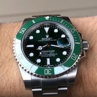 Rolex Green Submariner (Hulk) *New*