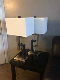 white and black table lamp Kissimmee, 34741