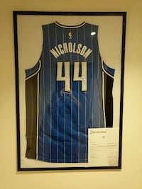 Andrew Nicholson Game-Used Jersey Meigray Ontario, L4J 9C1