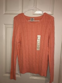 women's red scoop neck long sleeve shirt San Diego, 92111
