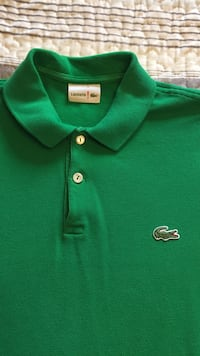 Green Lacoste polo shirt Norwich, N4S