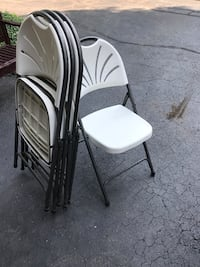 Event folding chairs - four for $60 Birmingham, 48009