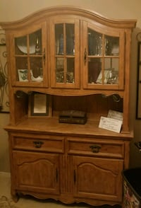 Hutch and buffet with lighted shelves   Gilbert, 85298