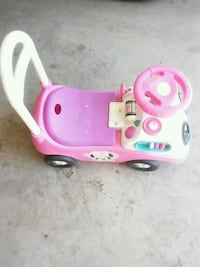 pink and white plastic toy car Santa Maria, 93458