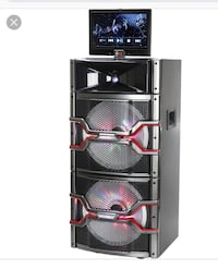 Bluetooth  cd /DVD karaoke it's loud and has LED Red and blue lights Painesville, 44077