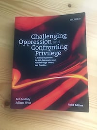 Challenging Oppression and Confronting Privledge Textbook London, N6J 1Z6