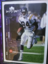 Randy Moss Vikings Sports Card  Saint Paul, 55106