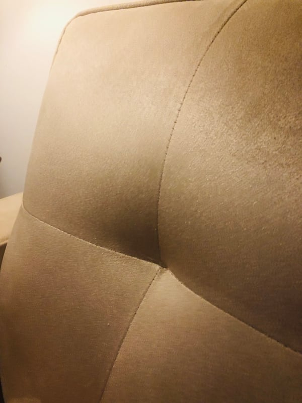 MITCHELL GOLD Sofa and Loveseat CREAM color (used/great condition) 58609f99-8053-44a1-b6a7-59d94cc13349