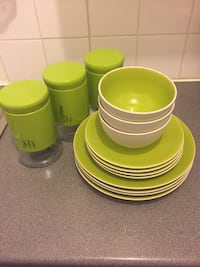 assorted-color ceramic dinnerware set London, E10 7AE