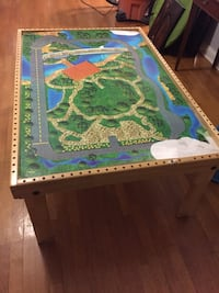 Thomas the Train Table, map, tracks and train set Chicago, 60607