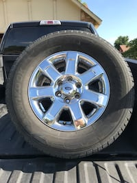 2014 Ford F-150 wheels and tires Broken Arrow, 74012