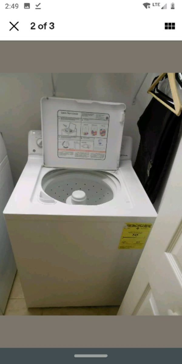 GE Super Capacity Washer  WDSR2080DWW 6
