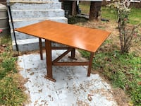 Foldable Dining Table (Solid Wood) 26 mi