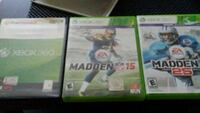 two Xbox 360 game cases Merced, 95341