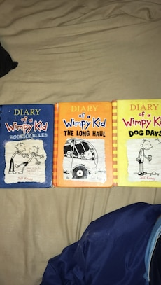three Diary of a Wimpy Kid by Jeff Kinneys