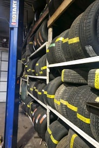 """17"""" tire set and single 70$ each by installation"""