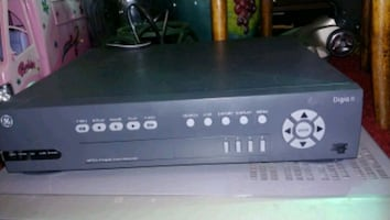 GE Digital security recorder 4 channel