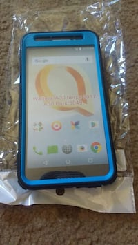 Blue and black phone case for Alcatel Wayland, 14572