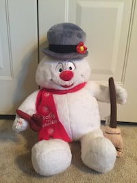 white and red bear plush toy MANAHAWKIN