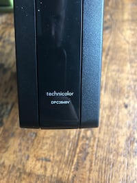 Used Technicolor DPC3848V Modem - works with TekSaavy internet for sale in  New Tecumseth - letgo