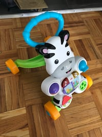 white and green Fisher-Price learning walker Toronto, M6M 2A5