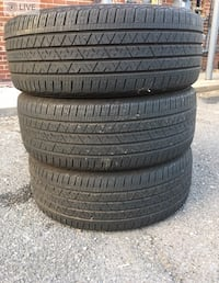 3 tires like new 245/55r20$80 Leesburg, 20176