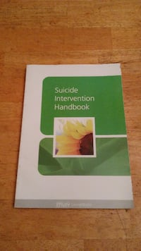 Suicide Intervention Handbook (Living Works) Only $2 Carlisle