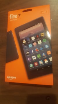 "Fire 7 Tablet with Alexa, 7"" Display, 8 GB, Black Centreville"