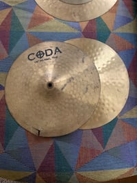 14in high hat cymbals Tampa, 33606