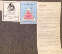 100 % WOOL CARPET FROM POTTERY BARN ** priced to sell *** Montréal, H3S 2T9