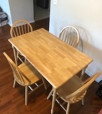 Dining table with 4 chairs  Fairfax, 22030