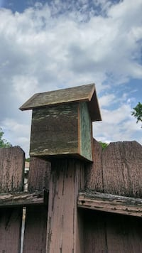 brown wooden birdhouse Tennessee, 37189
