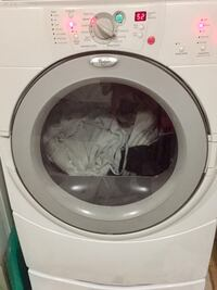 white and gray Whirlpool front load dryer Leesburg, 20176