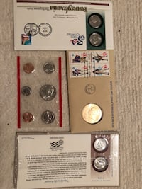 US MINT BU coins and half dollars proofs New York, 11375