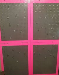 BIG PEGBOARD with Hooks