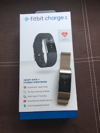 Fitbit Charge 2 w/5 extra bands, large, includes screen protectors. Rock Hill, 29732