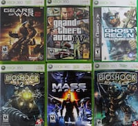 Xbox 360 Games For Sale !!!!