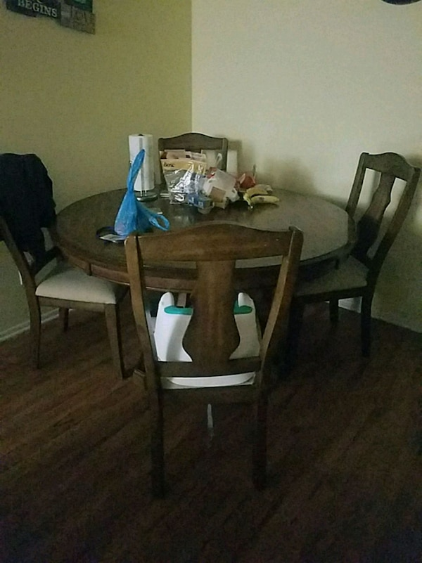table with 4 chair need to go asap