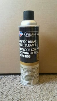 New Brake Parts Cleaner 14 oz. Spray Can Wearever Lancaster